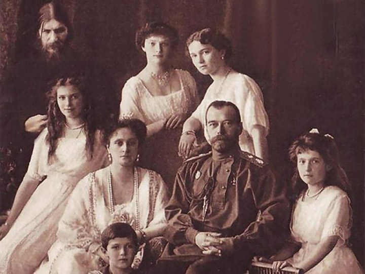 Rasputin and Romanov family