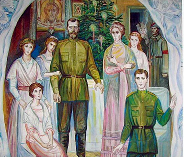Glimpses of the last Romanov Royal Christmas, held in Siberia 96 years ago this week