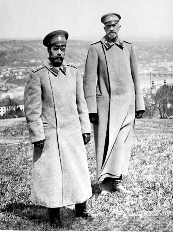 Private pictures from Russian Royal family album, Tsar Nikolai II