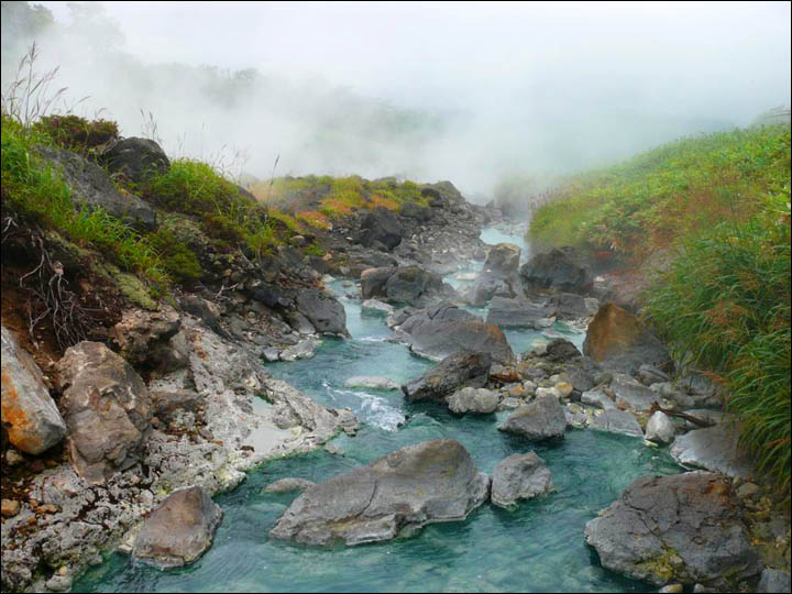 Magic of Sakhalin and Kurils, as remote islands attract tourists with unique baths