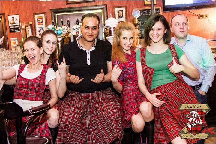 Scottish pubs in Siberia