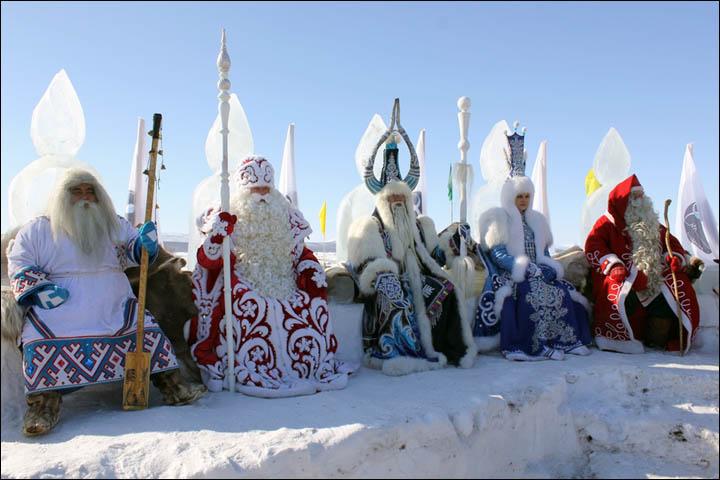 Siberian Santas