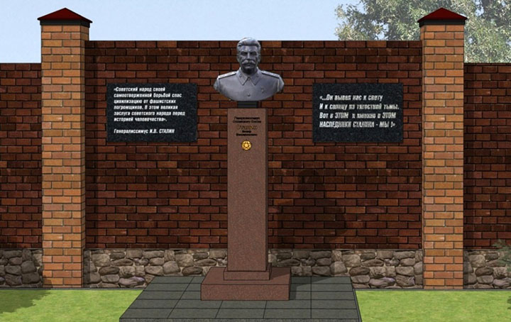 Josef Stalin returns to Novosibirsk to outrage of many locals
