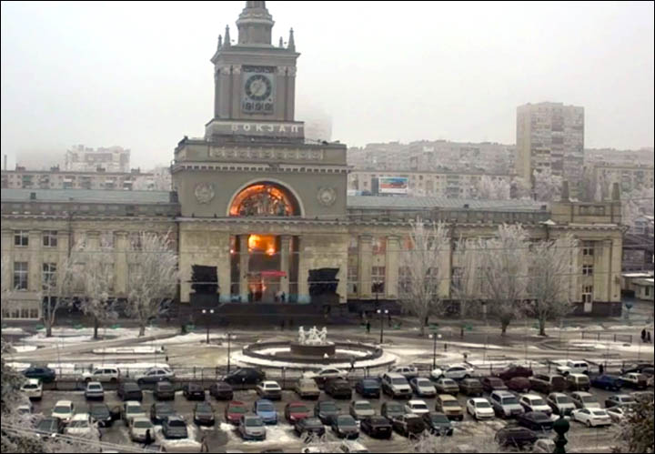 Siberian woman alleged to be 'black widow' suicide bomber in terrorist strike in Volgograd