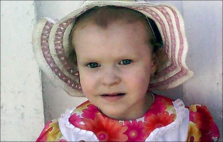Outpouring of grief over the murder of three year old Vika, abducted from her kindergarten