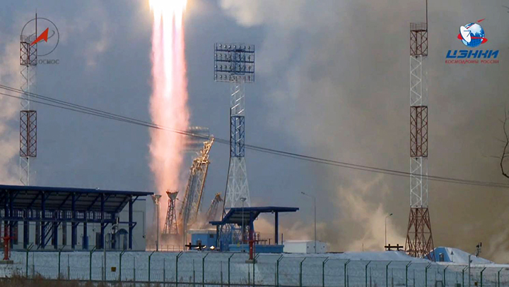 'Contact lost' with spacecraft after second launch from Russia's new Vostochny cosmodrome