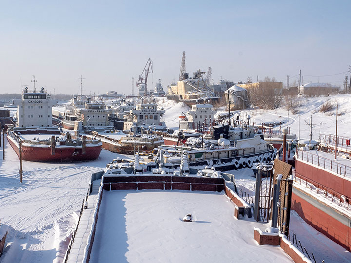 Freezing out ships, Vymorozka