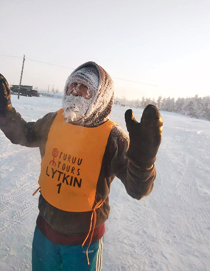 Coldest race in the world is run at -52C in Yakutia