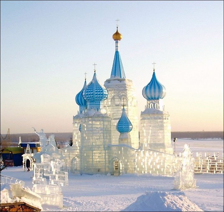 Merry Christmas from Siberia