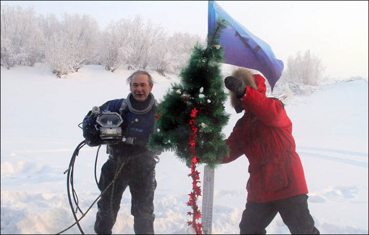 New Year 2014 begins with a world record in Siberia