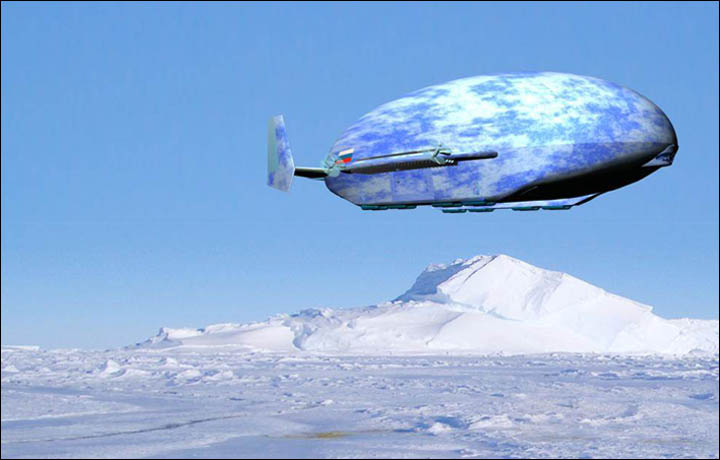 Futuristic airship scheme plan unveiled to transform Siberia and the Arctic