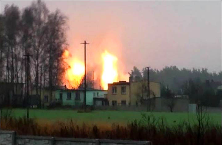 "Explosion in gas pipeline from Siberia to Europe could be ""terrorism"" say Ukrainian officials"
