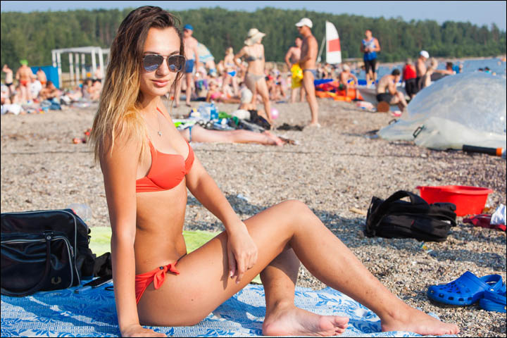 Siberia bakes with new record temperatures - and busy beaches