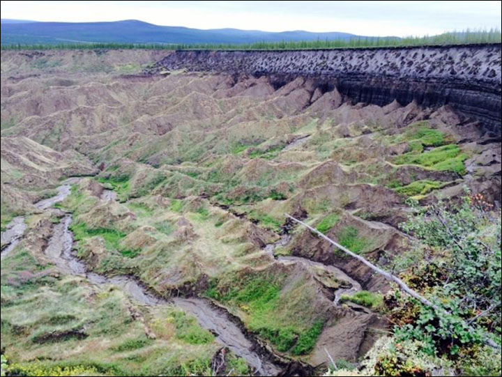 200,000 year old soil found at mysterious crater, a 'gate to the subterranean world'