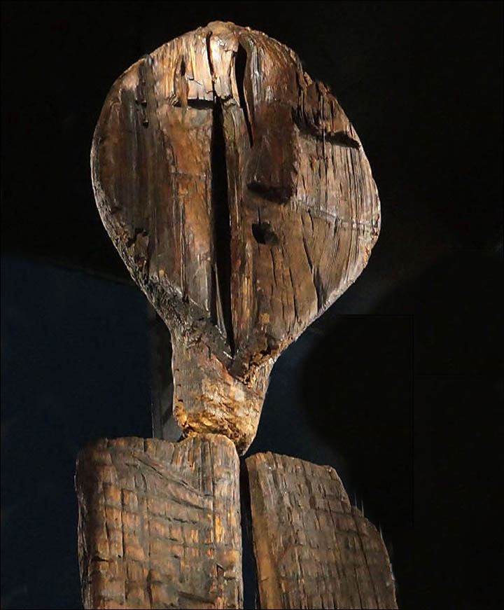 Big Shigir Idol, Yekaterinburg History Museum