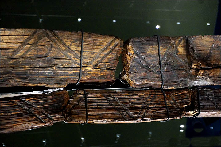 THE oldest wooden statue in the world