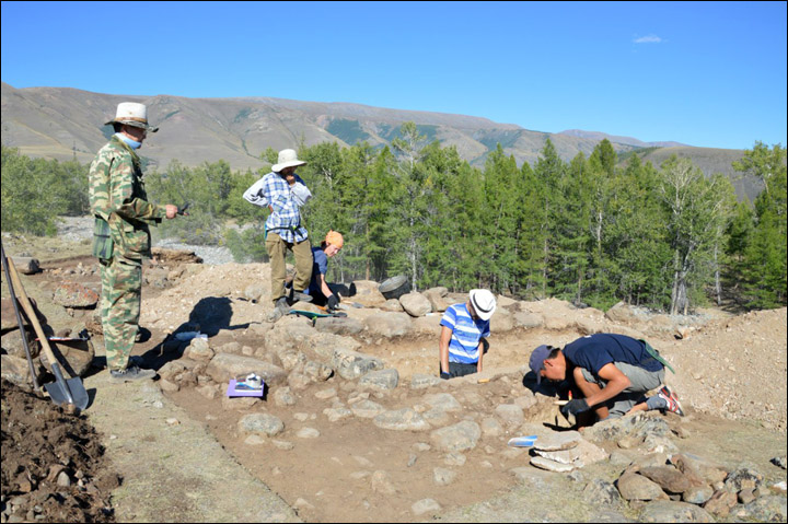 Excavations in Kosh-Agach