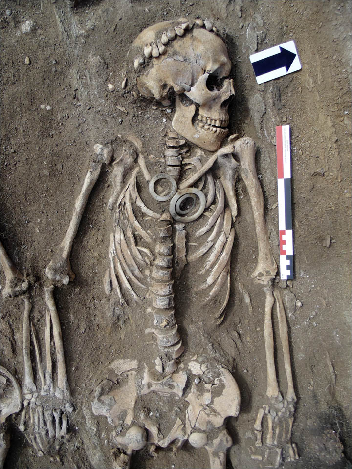 Bronze Age couple burial