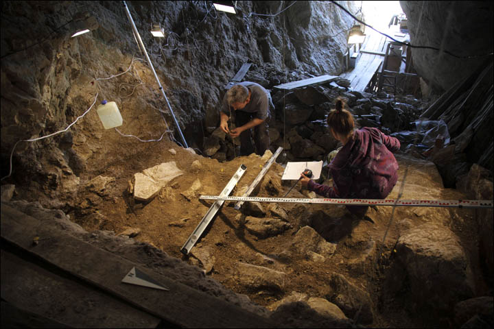 Peek inside the Siberian cave where inter-species love child 'Denny' lived 90,000 years ago