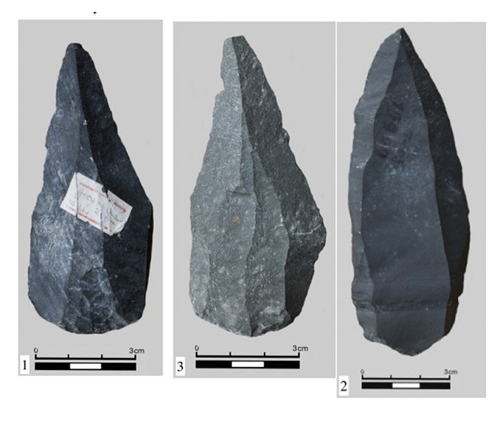 Stone implements found at Tolbor