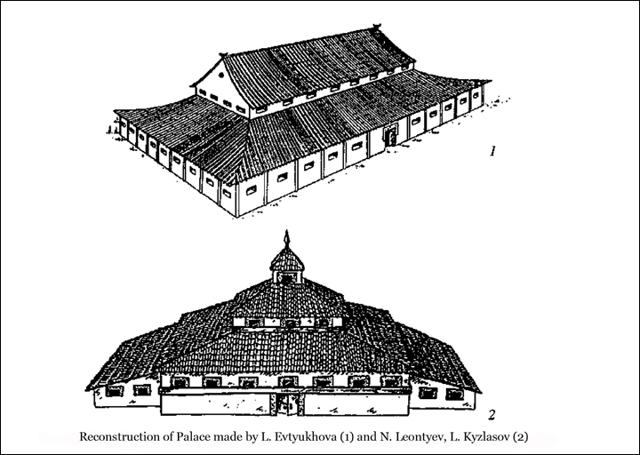 Reconstruction of the palace - two buildings