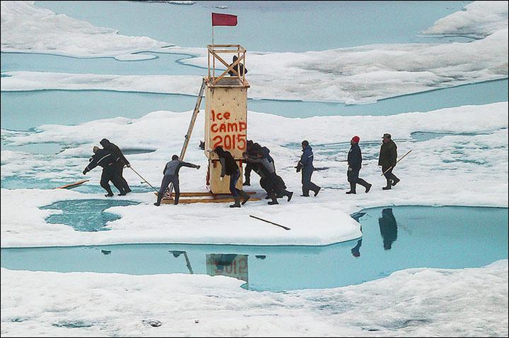 North Pole-2015