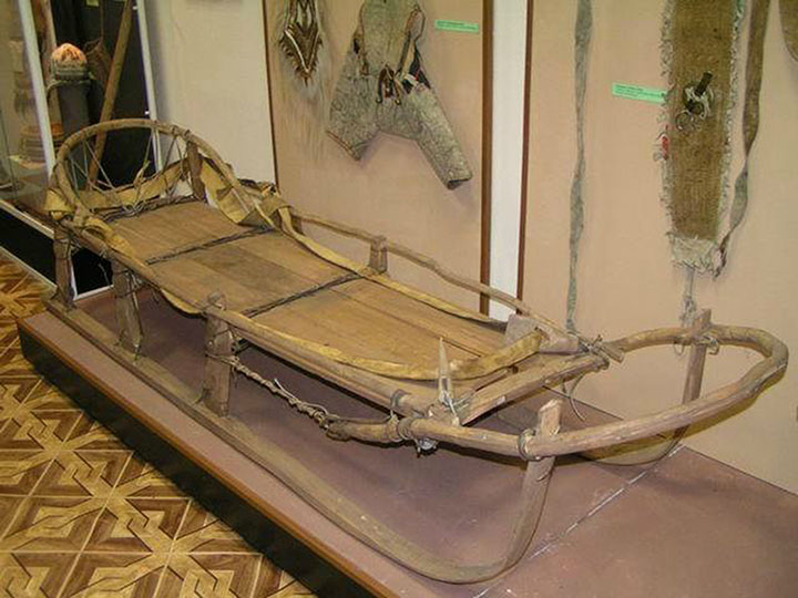 Chukchi dog sledge