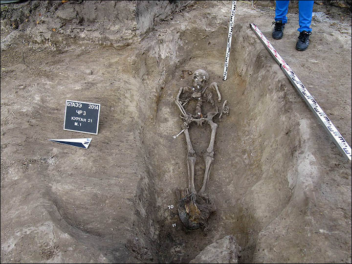 Mighty Siberian hero warrior reveals his secrets from almost 1,000 years ago