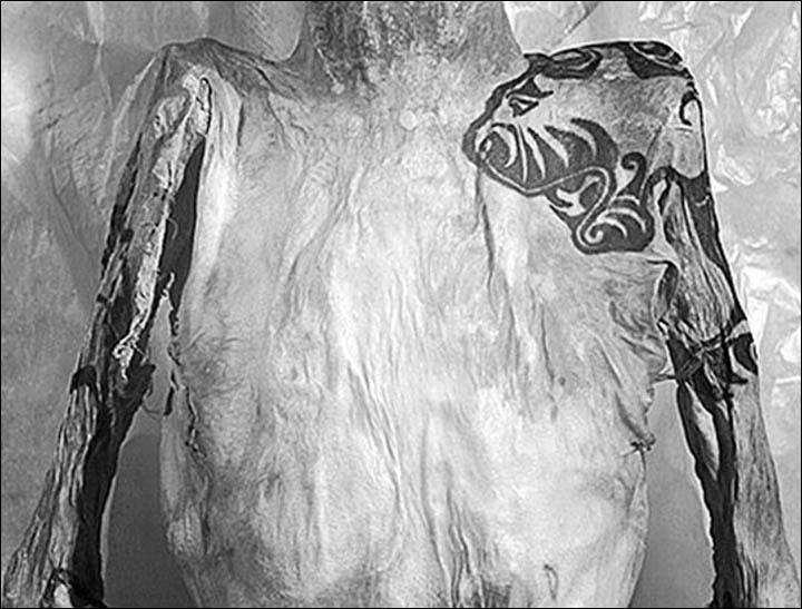 Male tattoo