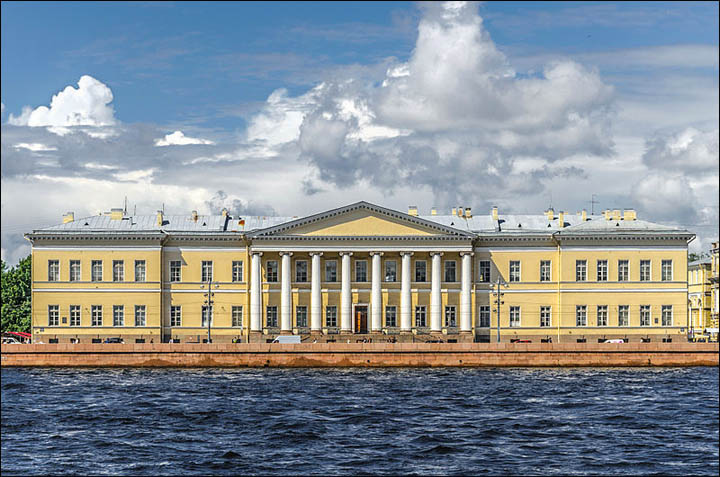 Building Russian Academy of Sciences in Saint Petersburg