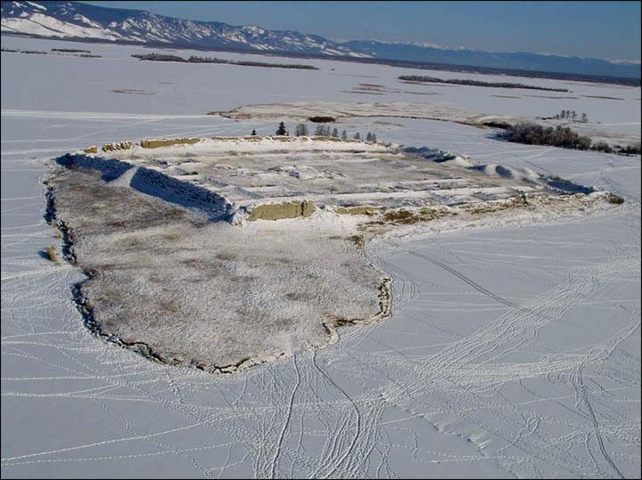 Por-Bajin in winter