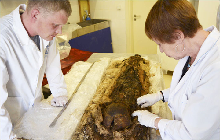 Unwrapping the mummy