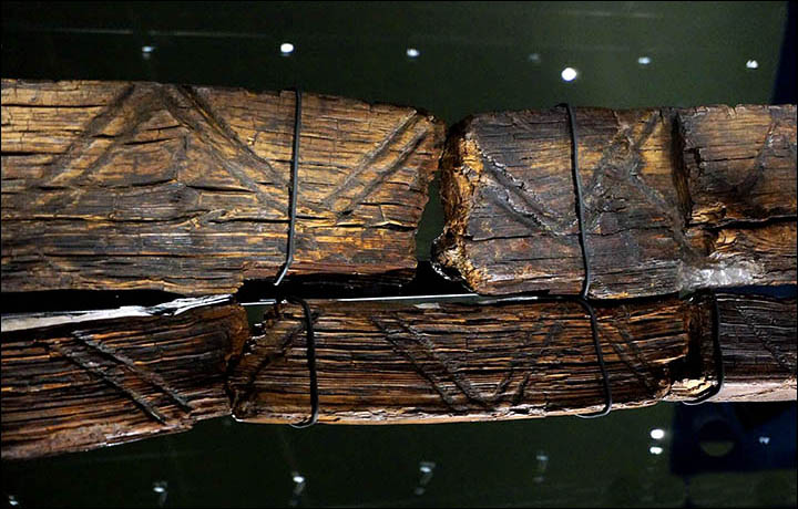 Beaver's teeth 'used to carve the oldest wooden statue in the world'
