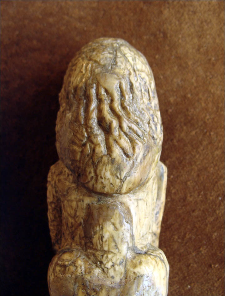Figurine's head