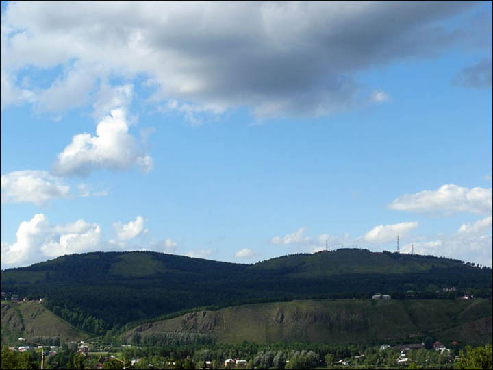 General view on Afontova mountain