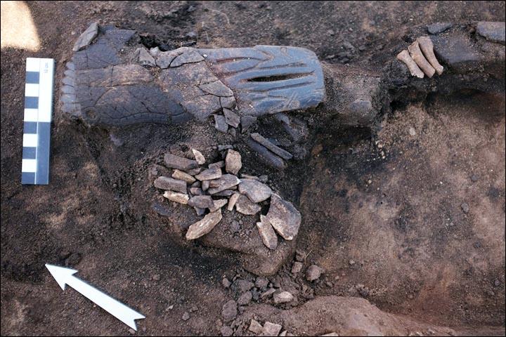 Figurine in situ