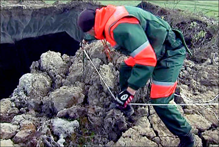 Foreign scientists welcome to join research into Siberia's mysterious giant holes