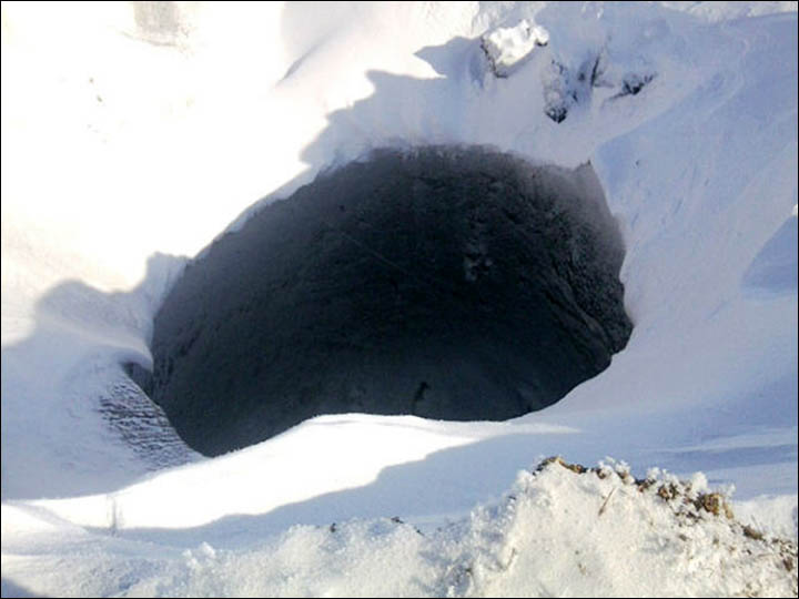 Big hole on Taymyr near Nosok