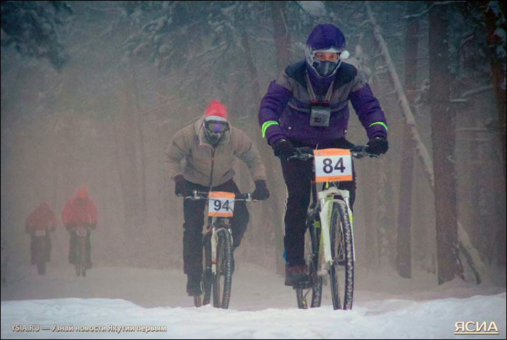 Coldest race