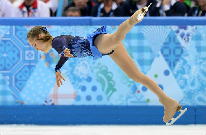 Skater Yulia Lipnitskaya, 15, steals the Olympic show in Sochi