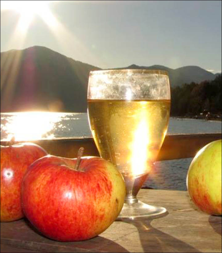 The ultimate away-from-it-all, Altai cider