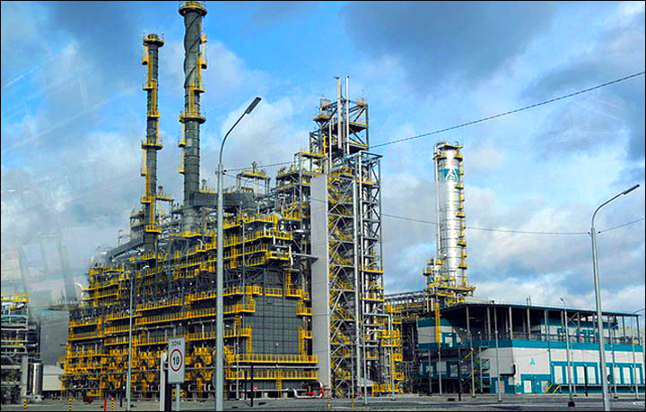 One of world's largest polypropylene production facilities