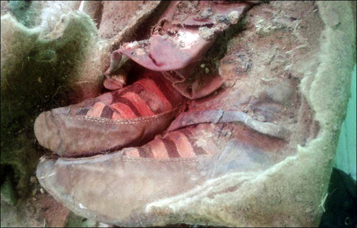 Turkic mummy adidas