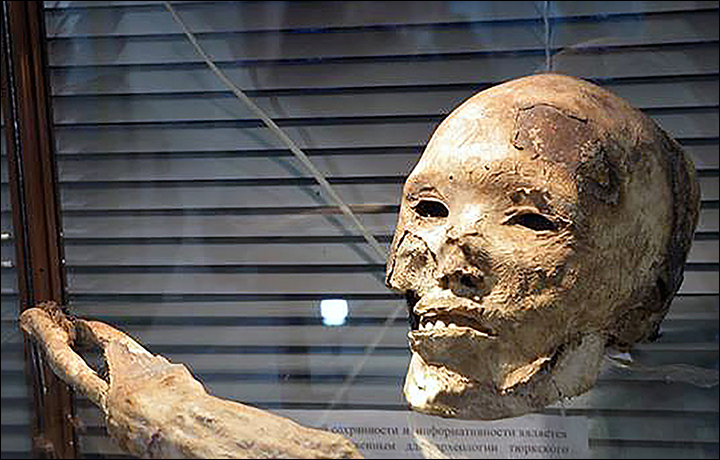'Keep this head, do not give it to anybody, and one day your museum will be famous'. Picture: Kokorya Museum