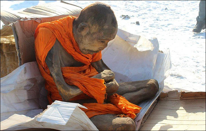 Mongolian mummified monk 'was disciple of one of great Buddhist ...