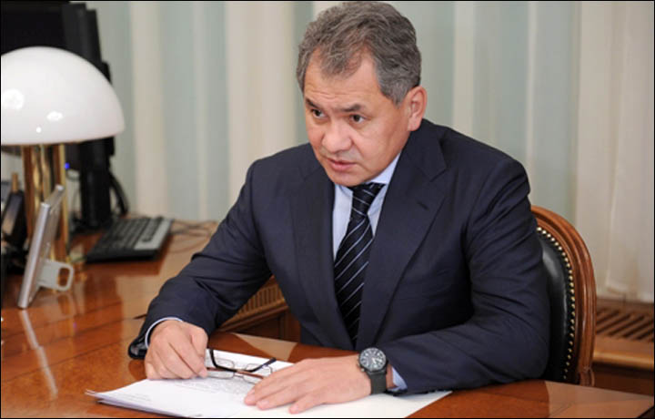 Vladimir Putin Appoints Siberian Born Sergei Shoigu As Russia S New Defence Minister