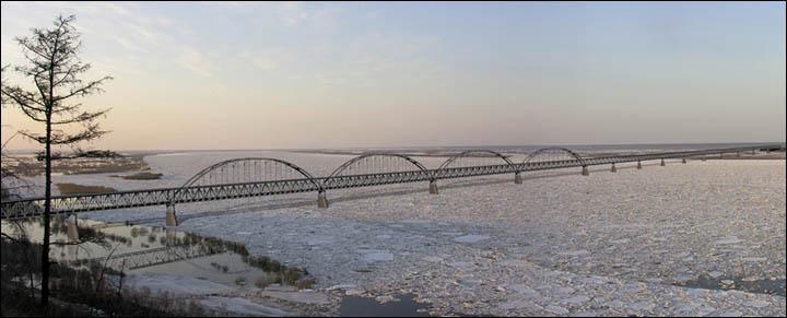 Ленский мост: Минтранс дает добро