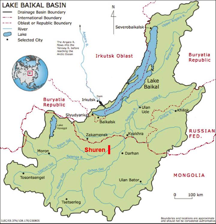 Lake Baikal World Map.Extreme Warnings Issued That Lake Baikal Could Drain Dry Like The