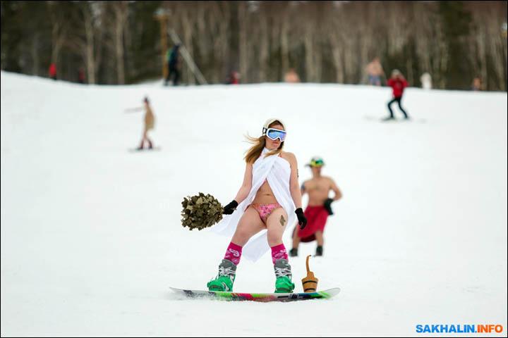 Sakhalin skiing
