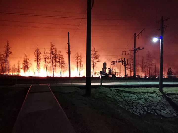 Armageddon as wildfires ignite forest around Komsomolsk-on-Amur